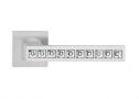Фурнитура для дверей - Linea Cali -  - REFLEX CS хром матовый/ SWAROVSKI 1215/019