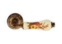 Фурнитура для дверей - Linea Cali -  - DALIA ANTIQUE античная латунь/керамика с цветами 665/103