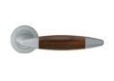 Фурнитура для дверей - Linea Cali -  - HAVANA CS хром матовый/дерево 1082/102