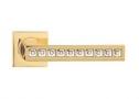 Фурнитура для дверей - Linea Cali -  - REFLEX OZ золото/хрусталь SWAROVSKI 1215/093